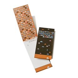 PADM0001 Matchbook Cover Note Pad - Paper Invaders