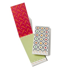 PADM0005 Matchbook Cover Note Pad - Wasabi