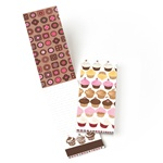 PADM0007 Matchbook Cover Note Pad - Cupcake