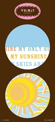 SCL40003 Stickers You are my Sunshine