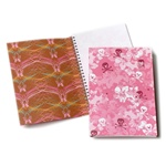 JWB0002 Gritty in Pink Wired Journal