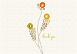 NEV60001 Note Cards - Modern Thank You