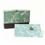 NOTEBX02 Blue Bird Box set of 12