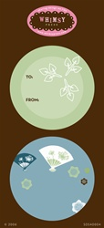 SDS40004 Stickers Green Tea